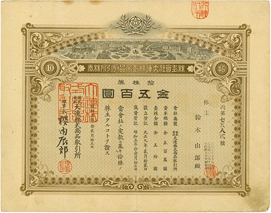 Dalian Stock and Commodity Exchange