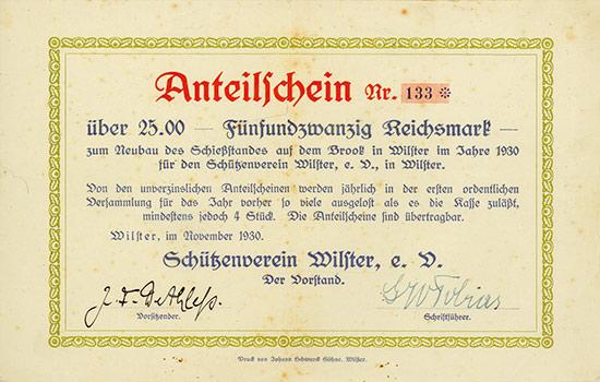 Schützenverein Wilster, e. V.