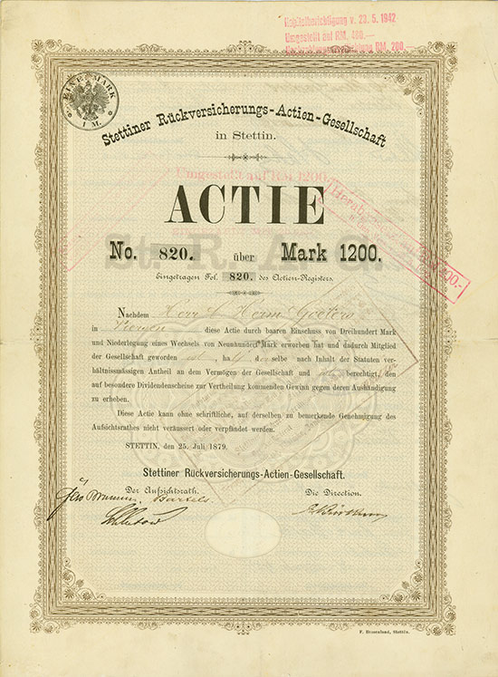 Stettiner Rückversicherungs-AG