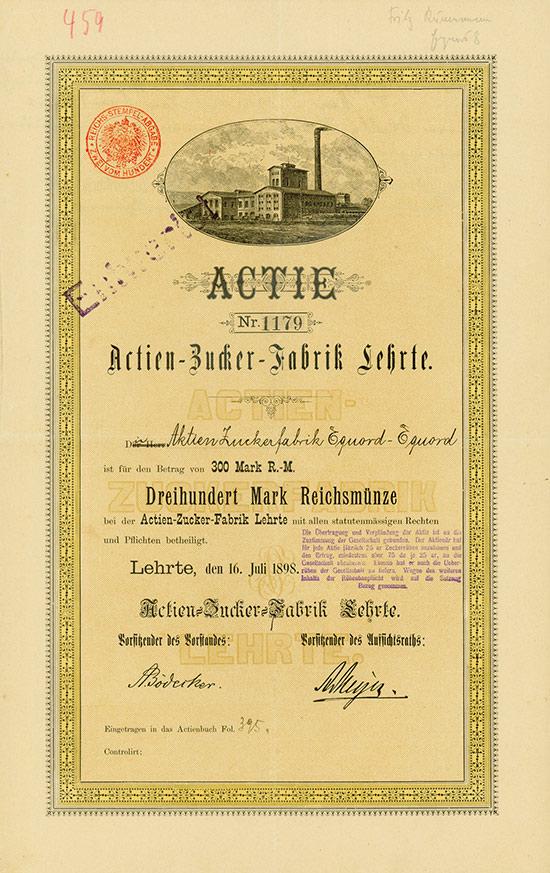 Actien-Zucker-Fabrik Lehrte