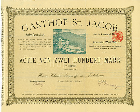 Gasthof St. Jacob AG [Multiauktion 2]