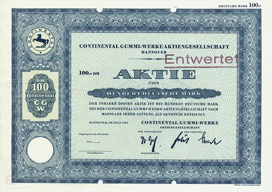 Continental Gummi-Werke AG
