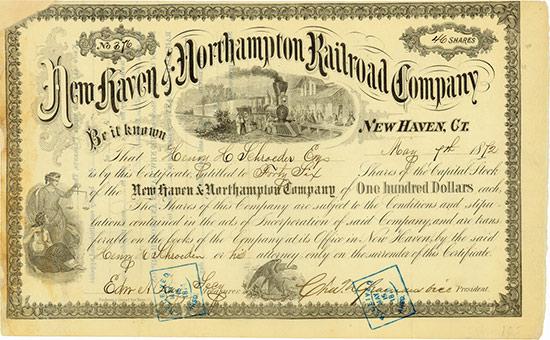 New Haven & Northampton Railroad Company