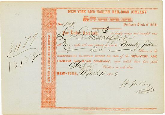 New-York and Harlem Rail-Road Company