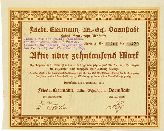 Friedr. Eiermann AG