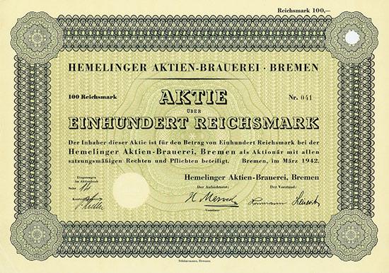 Hemelinger Aktien-Brauerei