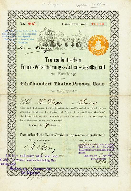 Transatlantische Feuer-Versicherungs-AG
