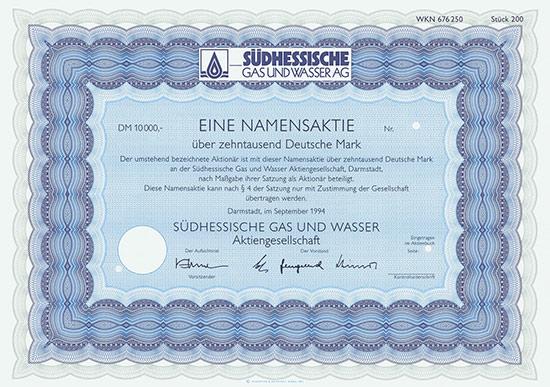 Südhessische Gas und Wasser AG