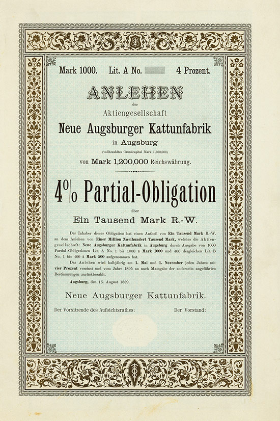 Neue Augsburger Kattunfabrik