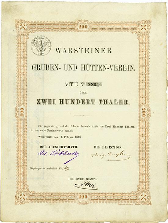 Warsteiner Gruben- und Hütten-Verein