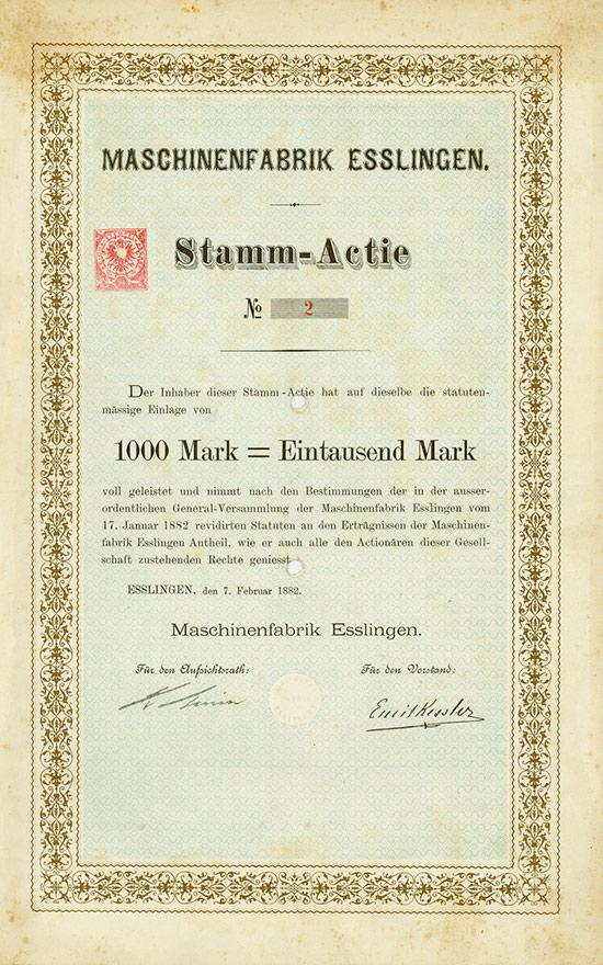 Maschinenfabrik Esslingen
