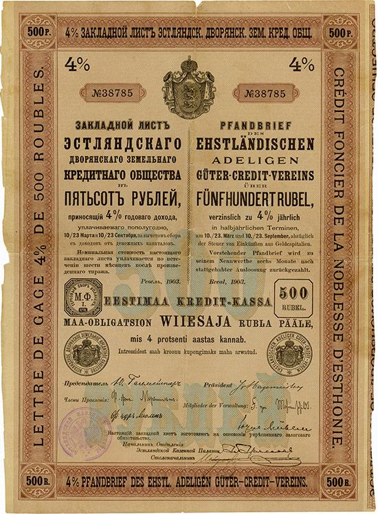 Ehstländischer Adeliger Güter-Credit-Verein