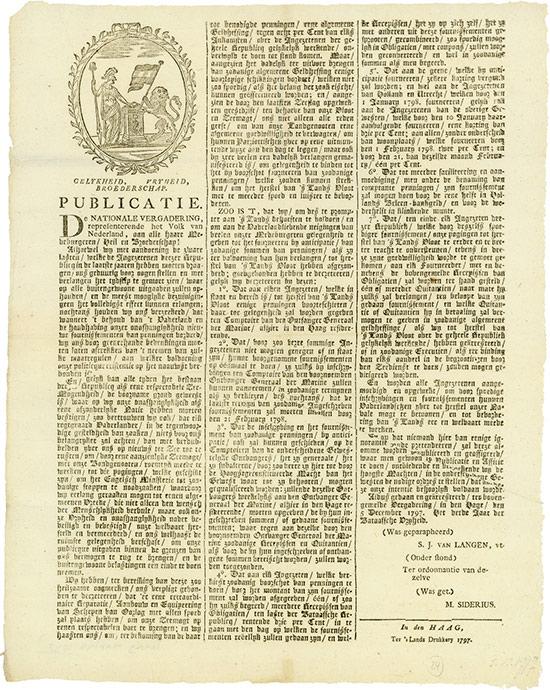 Bataafsche Republiek [9 Stück]