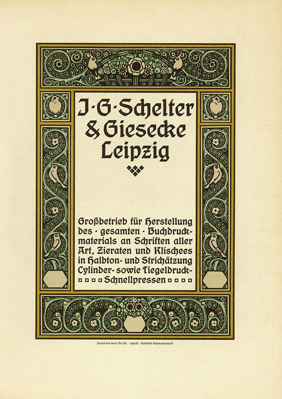 J. G. Schelter & Giesecke Leipzig