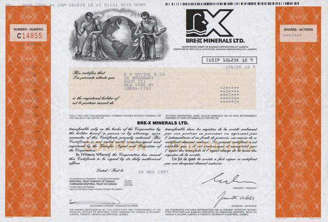 Bre-X Minerals Ltd.
