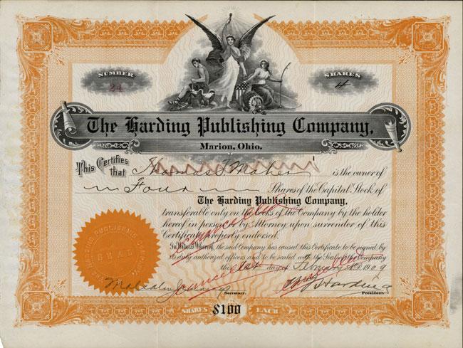 Harding Publishing Company