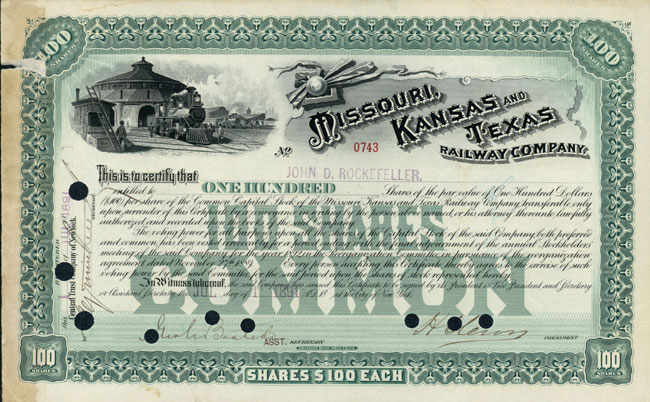 Missouri, Kansas and Texas Railway Company