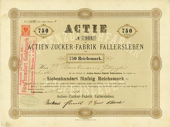 Actien-Zucker-Fabrik Fallersleben