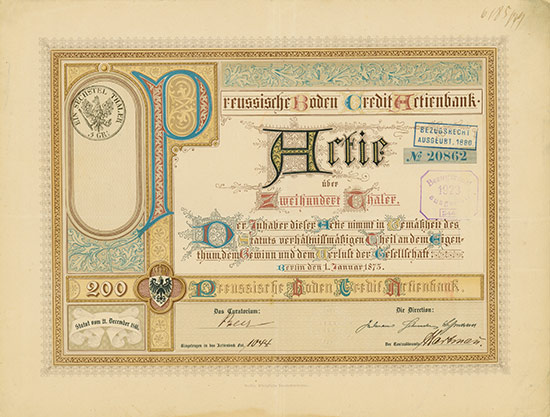 Preussische Boden Credit Actienbank