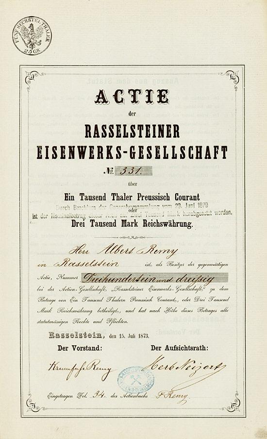 Rasselsteiner Eisenwerks-Gesellschaft