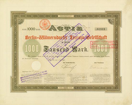 Berlin-Wilmersdorfer Terrain-Gesellschaft