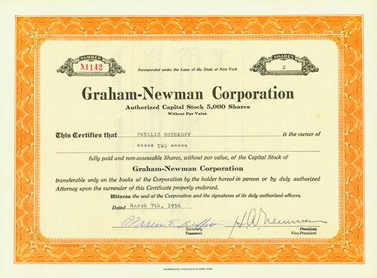 Graham-Newman Corporation
