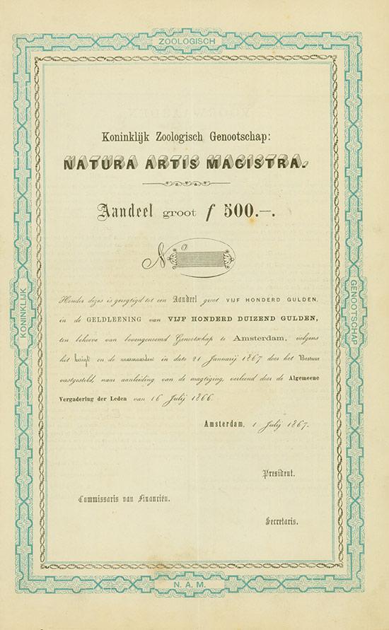 Koninklijk Zoologisch Genootschap Natura Artis Magistra