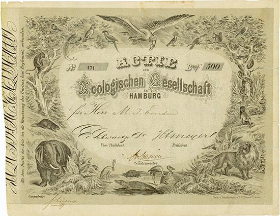 Zoologische Gesellschaft in Hamburg