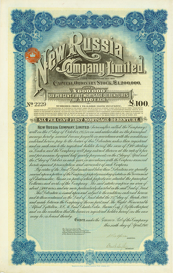 New Russia Company Limited