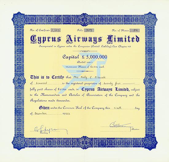 Cyprus Airways Limited