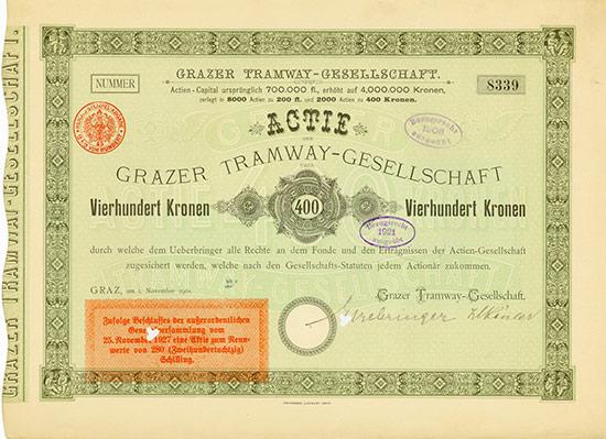 Grazer Tramway-Gesellschaft