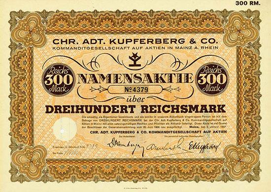 Chr. Adt. Kupferberg & Co. KGaA