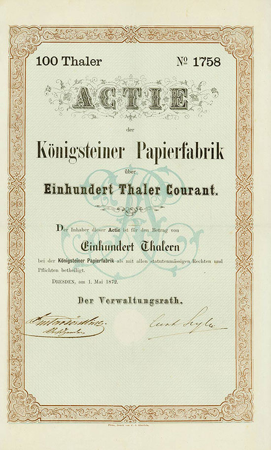 Königsteiner Papierfabrik