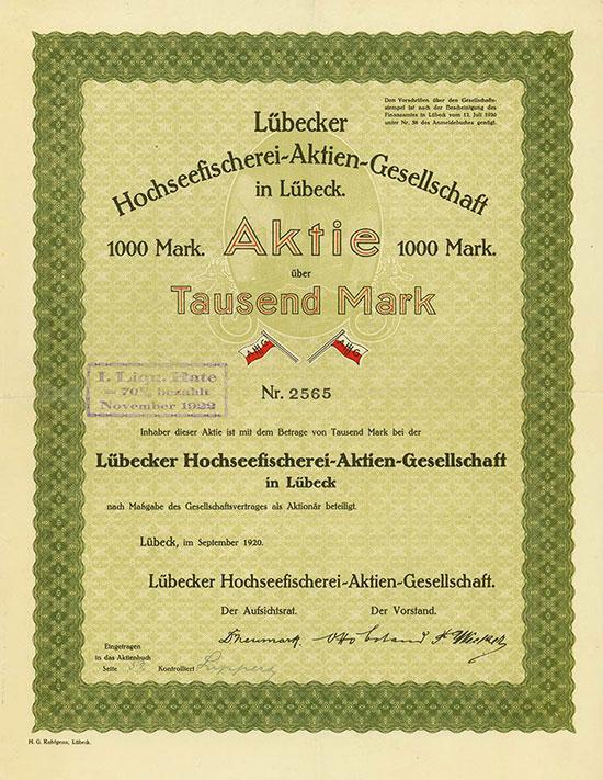 Lübecker Hochseefischerei-AG