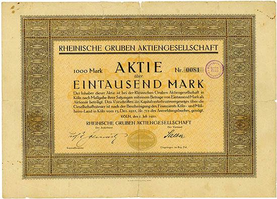 Rheinische Gruben AG