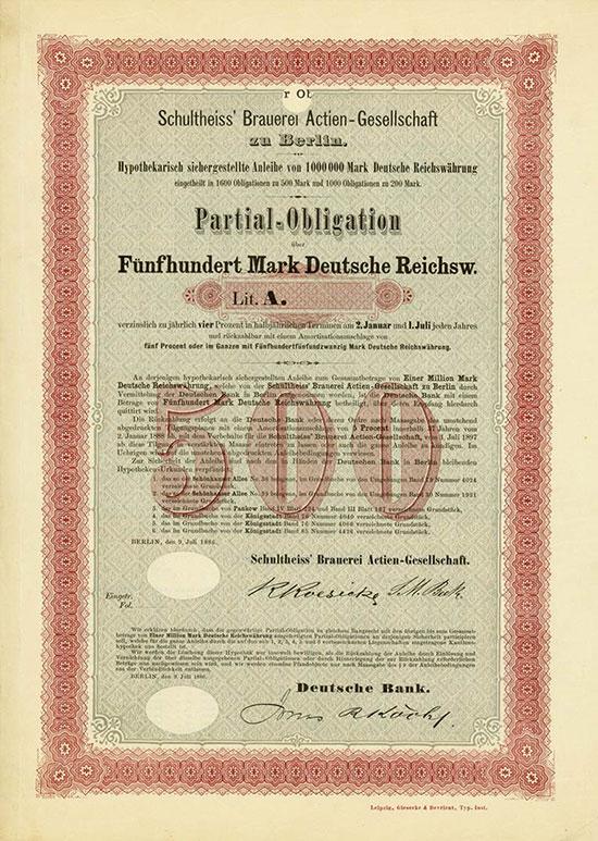 Schultheiss' Brauerei AG