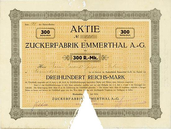 Zuckerfabrik Emmerthal A.-G.