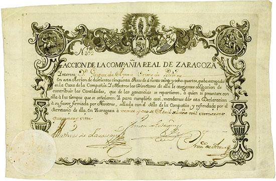 La Compañia Real de Zaragoza