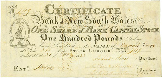 Bank of New South Wales