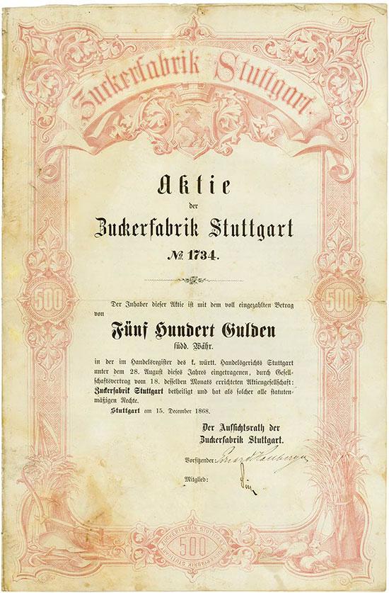 Zuckerfabrik Stuttgart