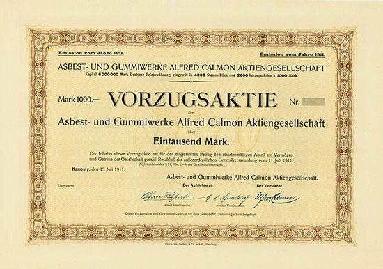 Asbest- und Gummiwerke Alfred Calmon AG