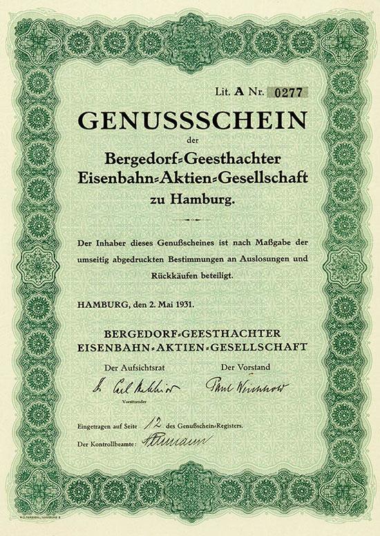 Bergedorf-Geesthachter Eisenbahn-AG