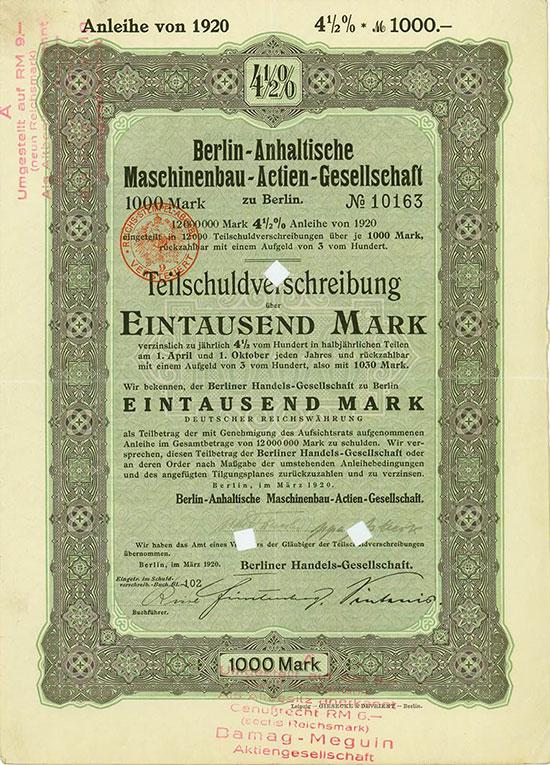 Berlin-Anhaltische Maschinenbau-AG