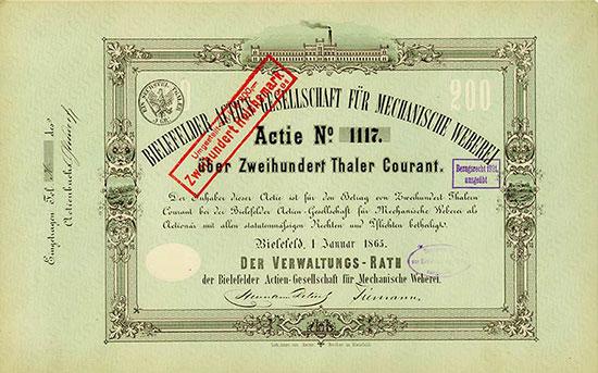 Bielefelder Actien-Gesellschaft für mechanische Weberei
