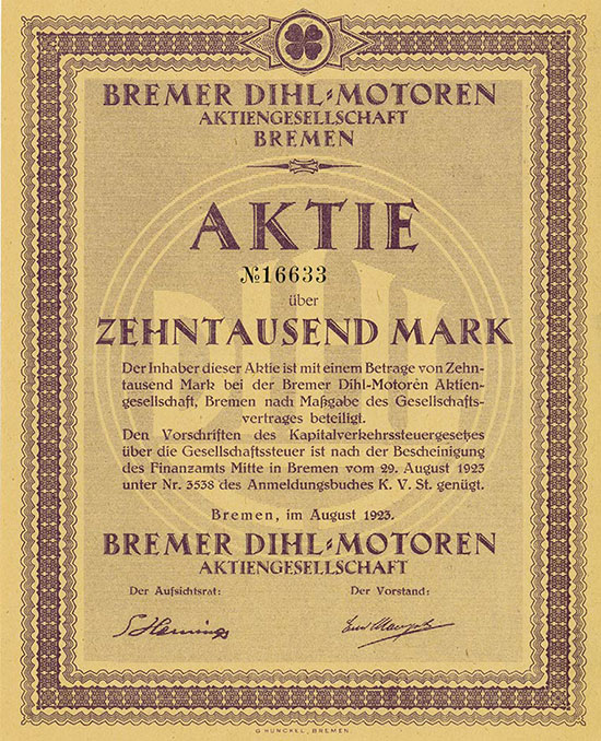 Bremer Dihl-Motoren AG