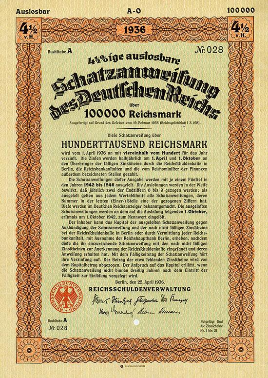 Deutsches Reich [14 Stück]