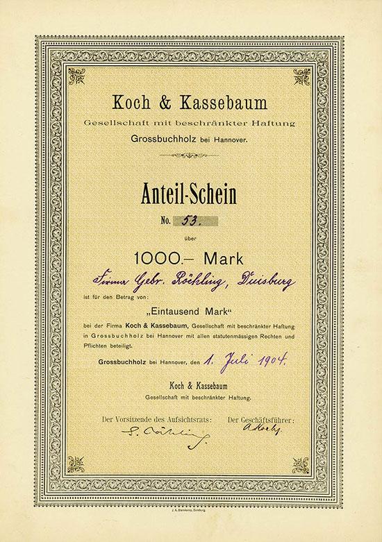 Koch & Kassebaum GmbH