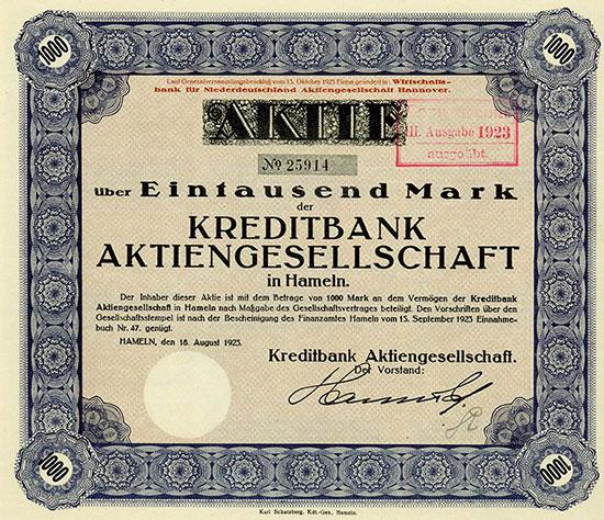 Kreditbank AG