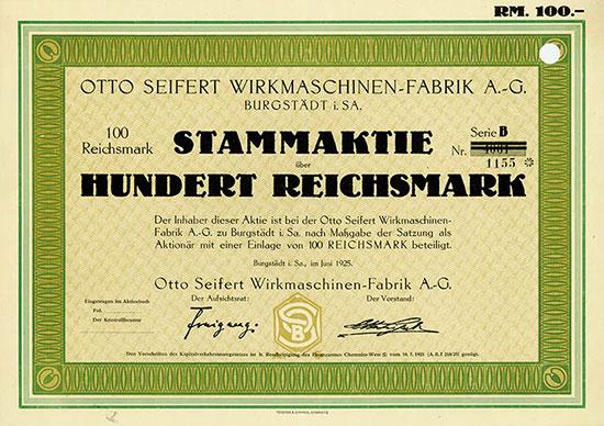 Otto Seifert Wirkmaschinen-Fabrik AG