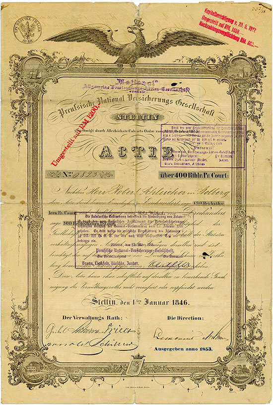 Preußische National-Versicherungs-Gesellschaft